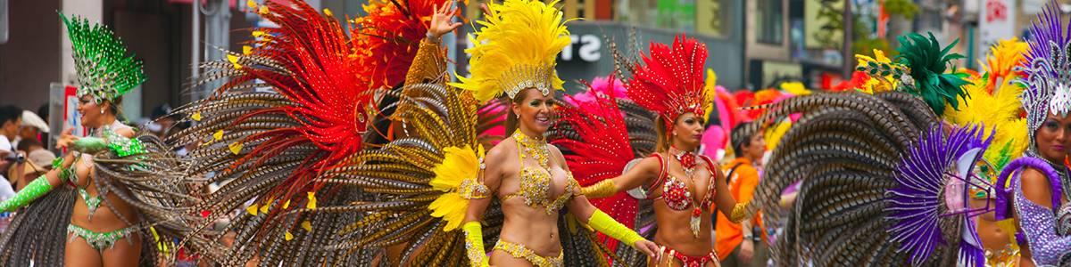 Нужны идеи для путешествия? Бразильский карнавал…